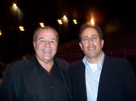 Mark with Jerry Seinfeld
